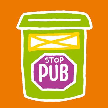 Je colle un stop pub sur ma boite aux lettres